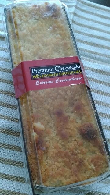 成城石井のチーズケーキを食べてみたよ!長方形のやつです【食レポ】